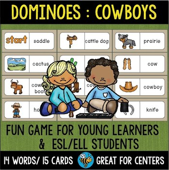 Early Finishers Activity   Dominoes: Cowboys