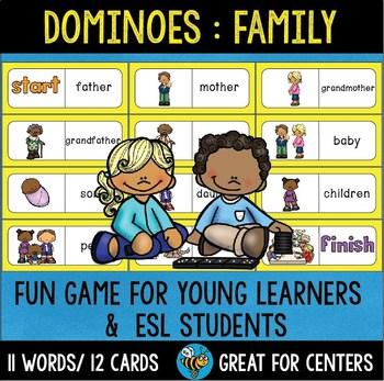 Early Finishers Activity | Dominoes: Family