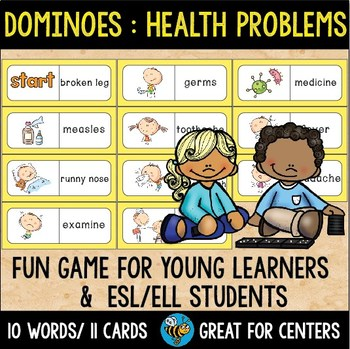 Early Finishers Activity   Dominoes: Health Problems