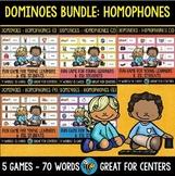 Early Finishers Activity | Dominoes: Homophones Bundle