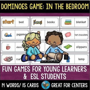 Early Finishers Activity | Dominoes: In the Bedroom