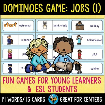 Early Finishers Activity | Dominoes:Jobs (set 1)