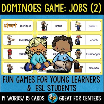 Early Finishers Activity | Dominoes:Jobs (set 2)