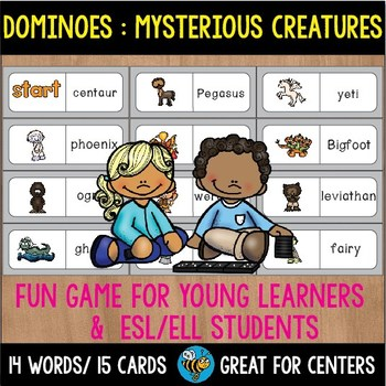 Early Finishers Activity | Dominoes: Mysterious Creatures
