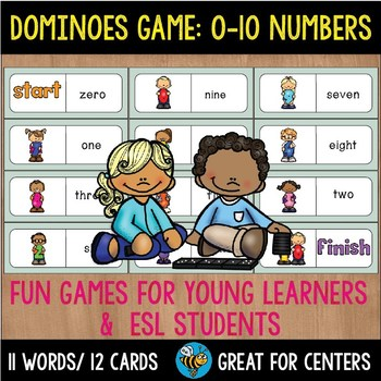 Early Finishers Activity | Dominoes: Numbers