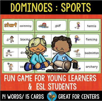 Early Finishers Activity | Dominoes: Sports