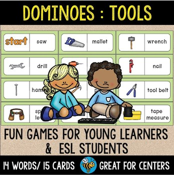 Early Finishers Activity | Dominoes:Tools