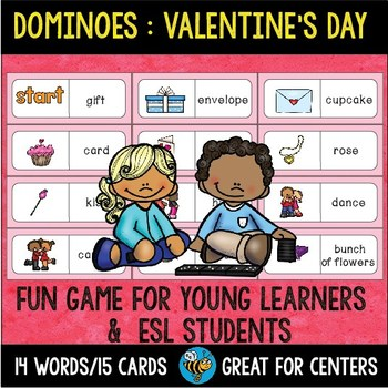 Early Finishers Activity | Dominoes: Valentine's Day