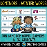 Early Finishers Activity | Dominoes: Winter Words