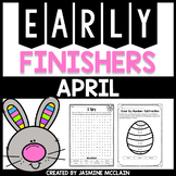 Early Finishers (April)