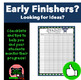 Early Finishers Bundle (Things to Do When You Are Done! Volumes 1-4)