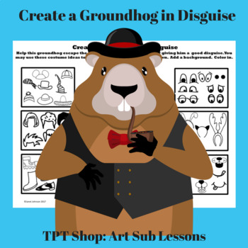 Early Finishers - Groundhog's Day - Create a Groundhog in Disguise