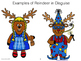 Distance Learning - Paper Only - Art Activity - - Create a Reindeer in Disguise