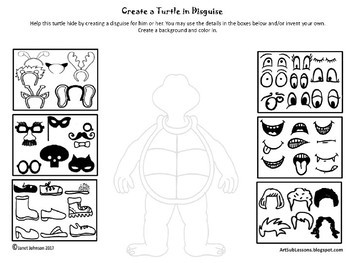 Early Finishers - Create a Turtle in Disguise