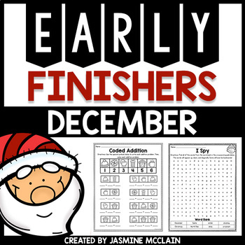 Early Finishers (December)