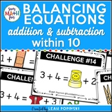 Problem Solving || Addition Subtraction Balancing Equations || Distance Learning