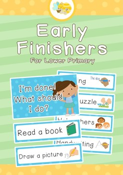Early Finishers - Lower Primary