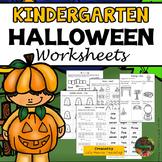 Halloween: Kindergarten Halloween Activities and Worksheets (Math and ELA)
