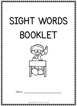 Sight Words: Noun List Sight Words Worksheets (Sight Word of the Day)