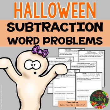 Halloween Story Problems (Differentiated Subtraction Word