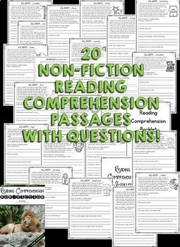 2nd Grade Reading Comprehension Passages (2nd Grade Nonfiction Reading Passages)