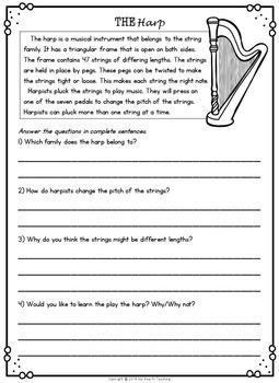 2nd Grade Reading Comprehension (2nd Grade Nonfiction Reading Comprehension)