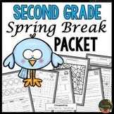 Spring Break: Second Grade Spring Break Packet