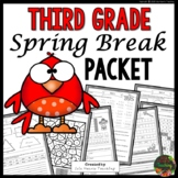Spring Break: Third Grade Spring Break Packet