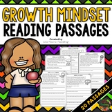 Growth Mindset Reading Comprehension Passages (Growth Mind