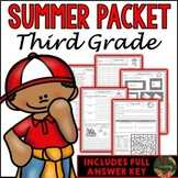 Third Grade Summer Packet (Third Grade Summer Review Homework)