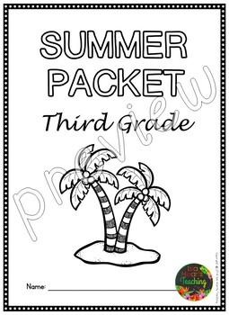 Third Grade Summer Packet (Third Grade Summer Review Homework)