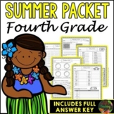 Fourth Grade Summer Packet (Summer Review, Homework and Su