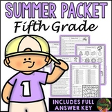 Fifth Grade Summer Packet (Fifth Grade Summer Review Homework)