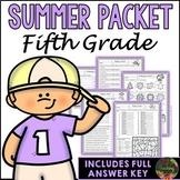Fifth Grade Summer Packet (Summer Review, Homework and Sum