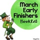 Early Finishers Monthly Booklets