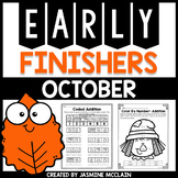 Early Finishers (October)