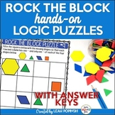 Early Finishers {Problem Solving} Logic Puzzles - 3rd 4th 5th Grades