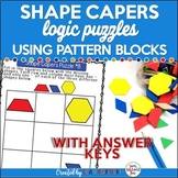 Kindergarten 1st and 2nd Grades Logic Puzzles - Problem Solving