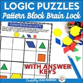 Early Finishers {Problem Solving} Logic Puzzles - 4th 5th 6th Grades
