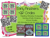 Early Finishers QR Codes