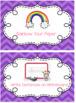Early Finishers Ribbon Chart (Editable)