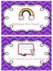 Early Finishers Ribbon Chart (Editable FREEBIE)