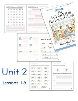 Early Finishers (Superkids Hit Second Grade - Unit 2, Lessons 1-5)