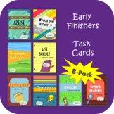Early Finishers - Task Cards (8 Activities Package)