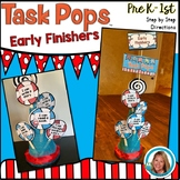 Dr. Seuss Week Inspired Early Finishers Activities | Task Cards