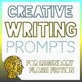 Early Finishers Task Cards for Legendary Divergent Thinking (Creative Writing)