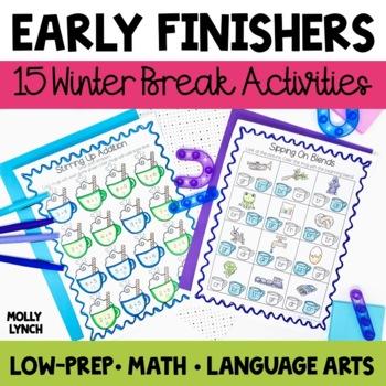 Early Finishers - Winter Break!