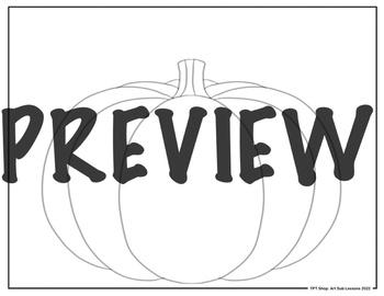 Early Finishers Worksheet - Decorate a Jack O' Lantern