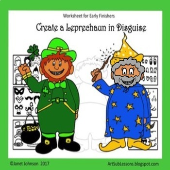 St. Patrick's Day - Create a Leprechaun in Disguise