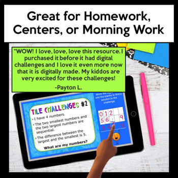 Early Finishers Activities - Math Enrichment & Homework - BUNDLED!